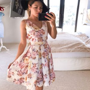 summer lady dress